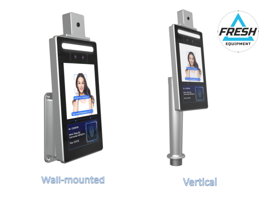 temperature access control wall-mounted vertical